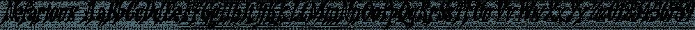 Nefarious font family by Hanoded