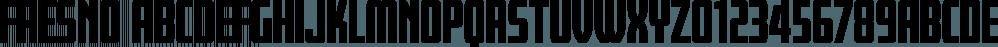 Fresno font family by Parkinson Type Design