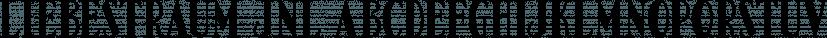 Liebestraum JNL font family by Jeff Levine Fonts