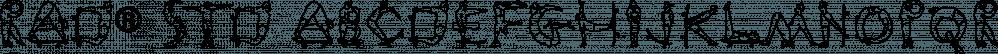 Rad® Std font family by Adobe