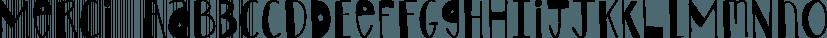 Merci font family by Atlantic Fonts