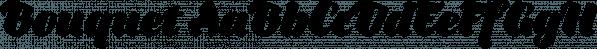 Bouquet font family by DSGN Fonts