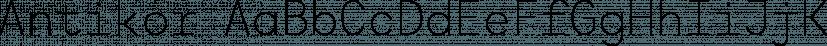 Antikor font family by Taner Ardali