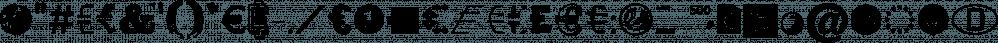 EURO Icon Kit font family by Typo Graphic Design