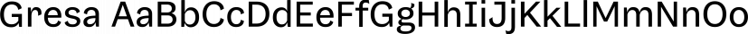 Gresa font family by Alexandru Cuibari