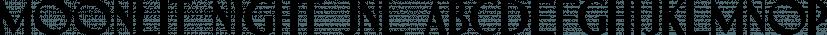 Moonlit Night JNL font family by Jeff Levine Fonts