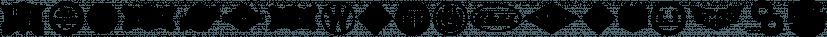 Rail Line JNL font family by Jeff Levine Fonts