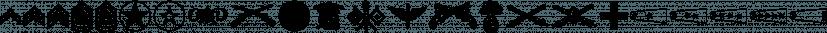 Militaria JNL font family by Jeff Levine Fonts
