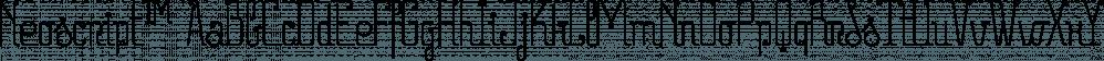 Neoscript™ font family by MINDCANDY