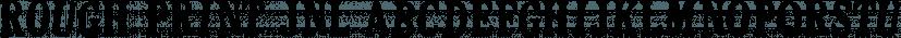 Rough Print JNL font family by Jeff Levine Fonts