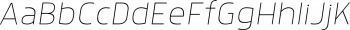 Anteb Alt Thin Italic mini