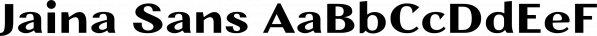 Jaina Sans font family by Linh Nguyen