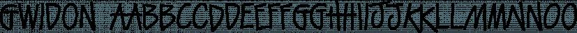 Gwidon font family by GRIN3 (Nowak)