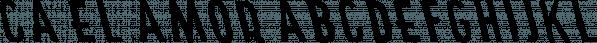 CA El Amor font family by Cape Arcona Type Foundry