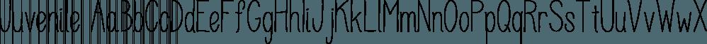 Juvenile font family by DimitriAna