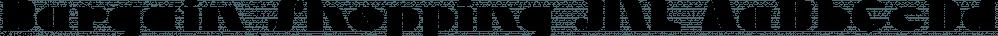 Bargain Shopping JNL font family by Jeff Levine Fonts