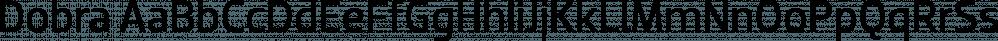 Dobra font family by DSType