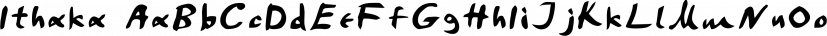 Ithaka font family by TEKNIKE