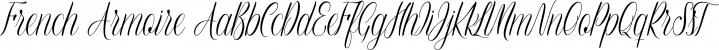 French Armoire font family by Anastasia Dimitriadi