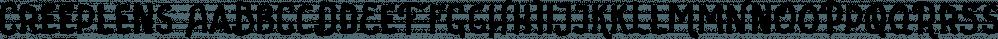 Creeplens font family by Letterhend Studio