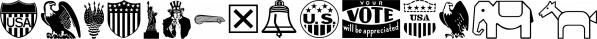 Voter JNL font family by Jeff Levine Fonts