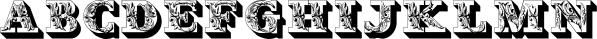 Fleurons Initials font family by Wiescher-Design