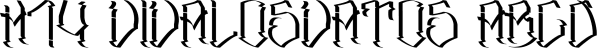 H74 VivaLosVatos font family by Hydro74