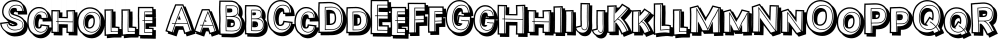 Scholle font family by Tour de Force Font Foundry