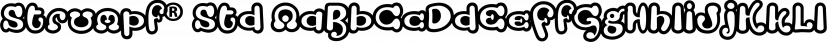 Strumpf® Std font family by Adobe