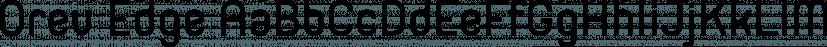 Orev Edge font family by Typesketchbook