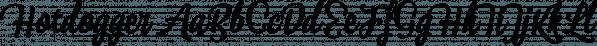 Hotdogger font family by Eurotypo