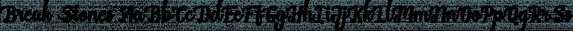 Break Stones font family by feydesign