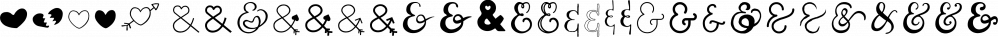 Couple Vol1 font family by Fontforecast