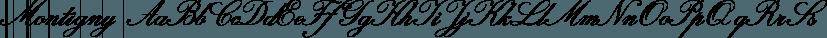 Montigny font family by Eurotypo