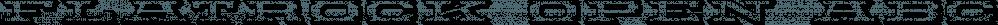 Flatrock Open font family by FontMesa