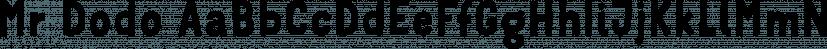 Mr Dodo font family by Hipopotam Studio