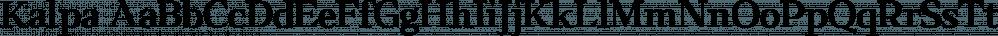Kalpa font family by Octotypo