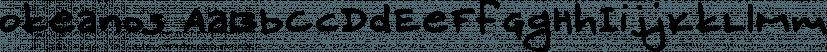 Okeanos font family by Konstantina Louka