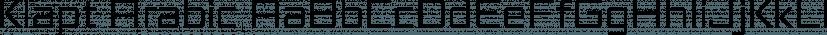 Klapt Arabic font family by SevenType