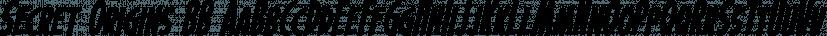 Secret Origins BB font family by Blambot