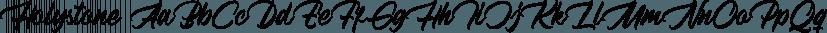 Holystone font family by Letterhend Studio