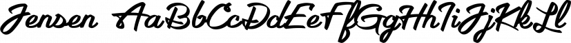 Jensen font family by Parker Creative