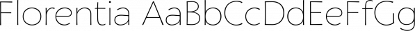 Florentia font family by Zetafonts