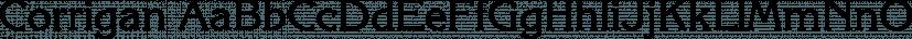Corrigan font family by FontSite Inc.
