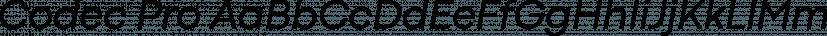 Codec Pro font family by Zetafonts