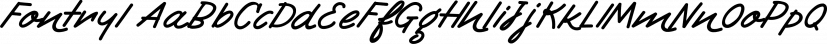 Fontryl font family by Konstantina Louka