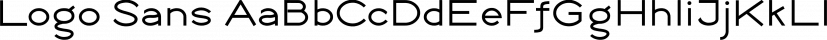 Logo Sans font family by Emily Lime Design