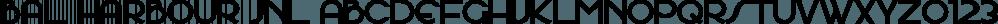 Bal Harbour JNL font family by Jeff Levine Fonts