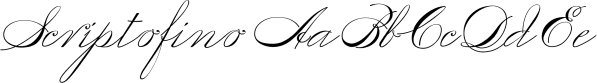 Scriptofino font family by Wiescher-Design