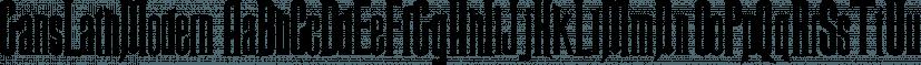 GansLathModern font family by Intellecta Design